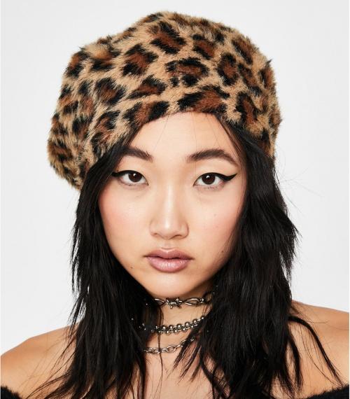 Dollskill - Béret léopard