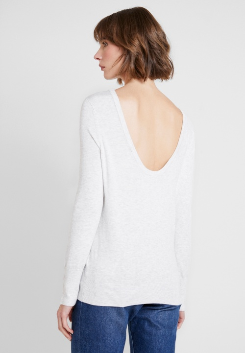Pieces - Pull dos ouvert