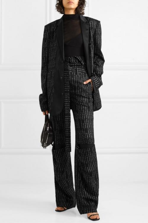 Unravel Project - Pantalon tailleur à découpes