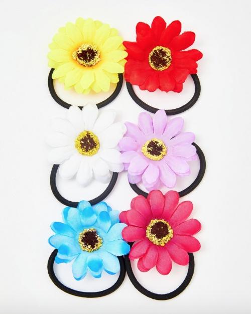 Dollskill - Elastiques cheveux fleurs