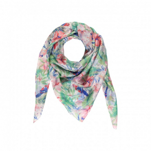 Tie Rack - Foulard imprimé tropical
