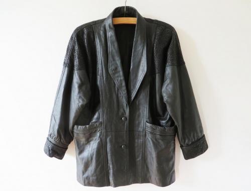 Etsy - Veste cuir épaules 80