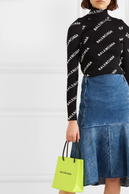 Balenciaga - Mini sac en tissu