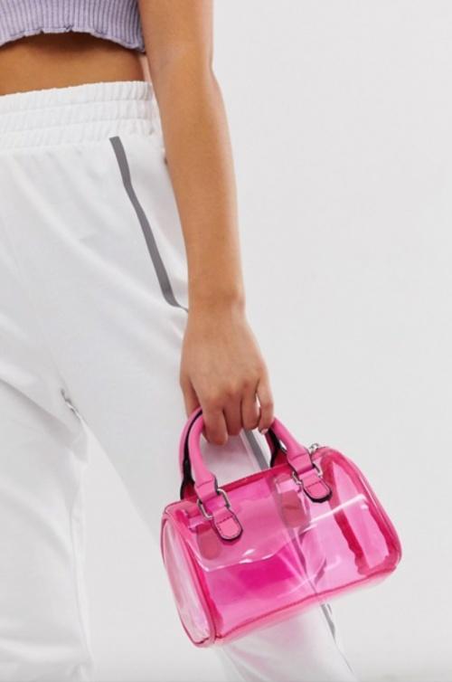 Asos Design - Mini sac bowling transparent