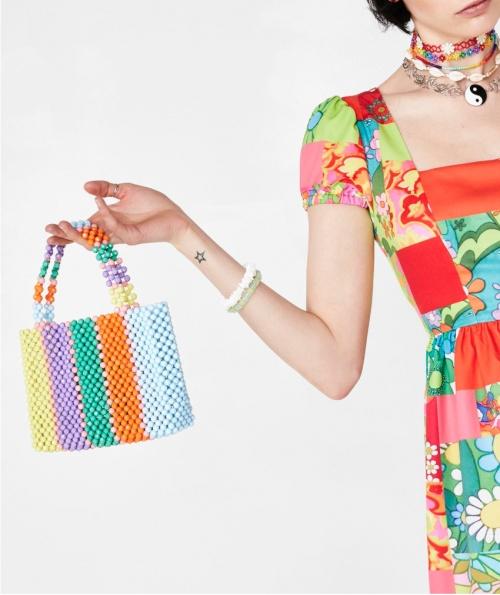 Dollskill - Mini sac en perles
