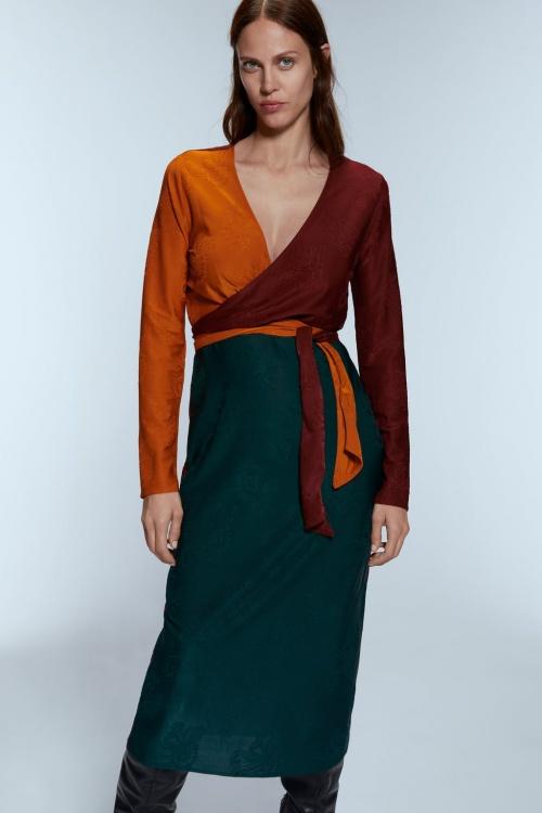 Zara - Robe portefeuille