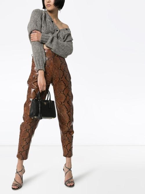 Alessandra Rich - Cardigan gris