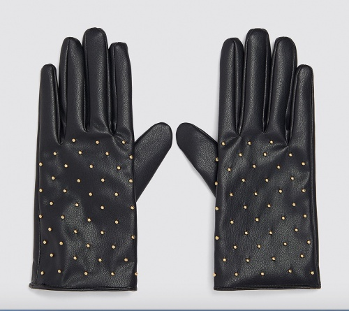 Zara - Gants en simili cuir
