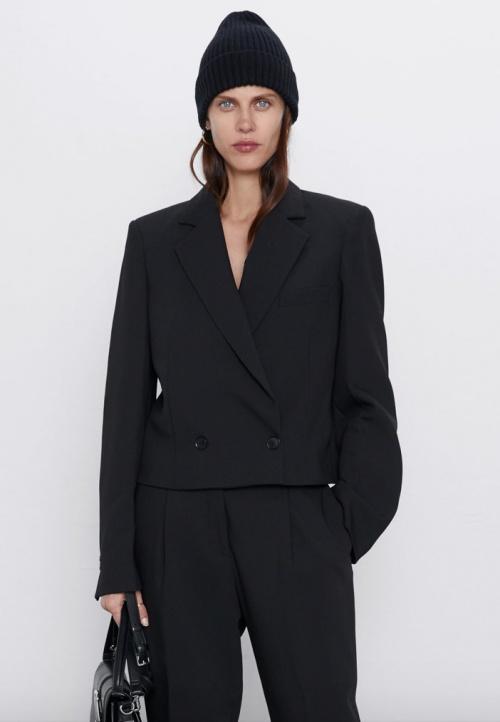 Zara - Veste tailleur courte