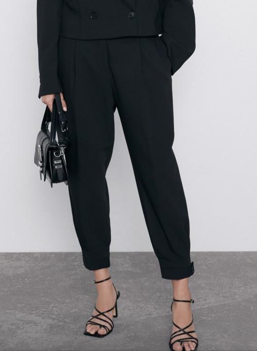 Zara - Pantalon à pinces