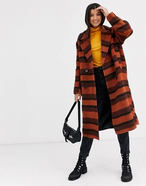 ASOS DESIGN - Manteau à carreaux