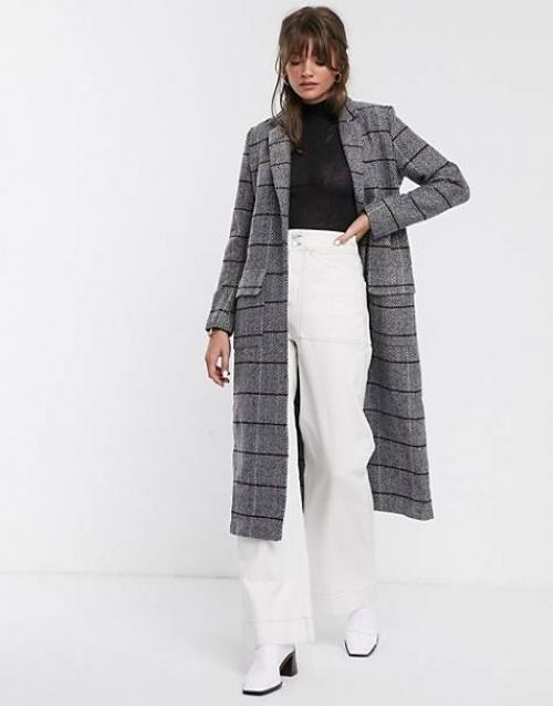 Glamorous - Manteau à carreaux