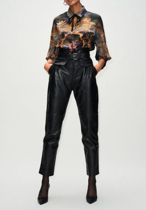 Claudie Pierlot - Pantalon cuir
