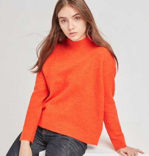 Uniqlo - Pull orange