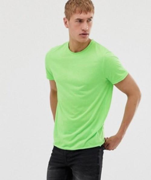 Brave Soul - T-shirt vert fluo