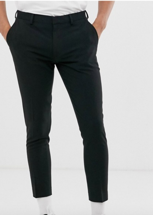 Asos Design - Jean noir homme