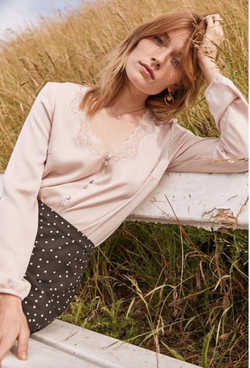 Balzac Paris - Blouse rose