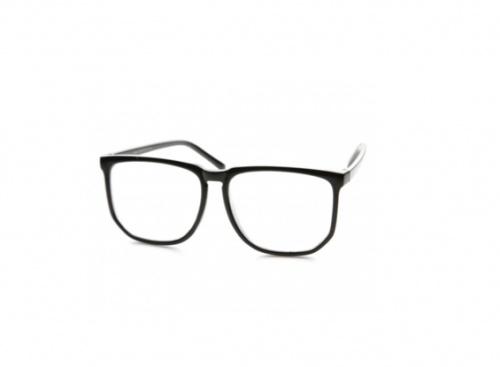 LunettesVintage - Fausses lunettes noires