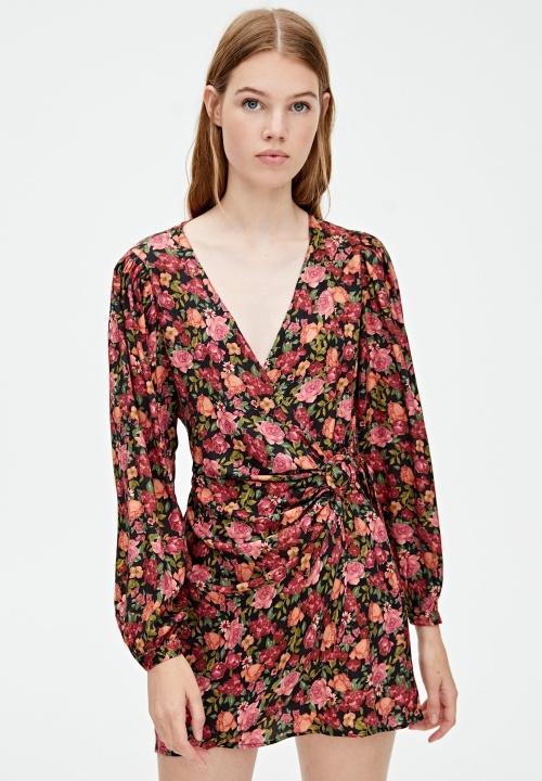 Pull & Bear - Robe fleurie