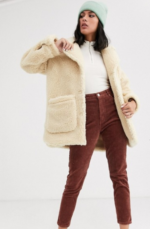 Monki - Veste teddy