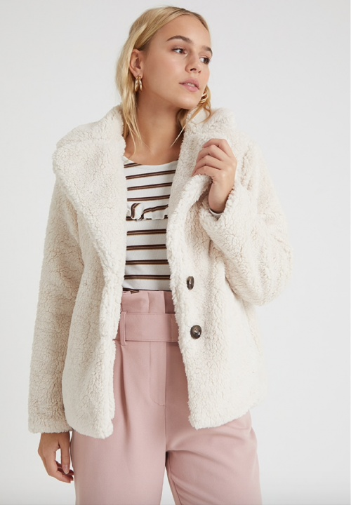 MissSelfridge - Veste teddy