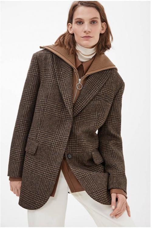 Arket - Blazer en tweed