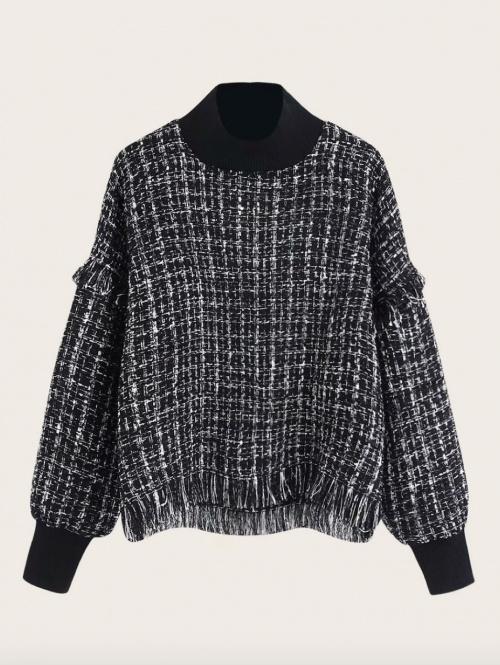 Shein - Pull en tweed