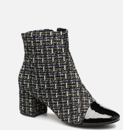 Cosmoparis - Bottines en tweed