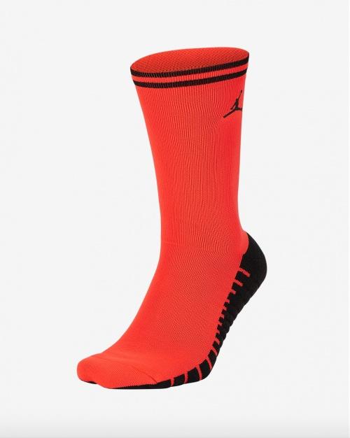 Jordan - Chaussettes rouges