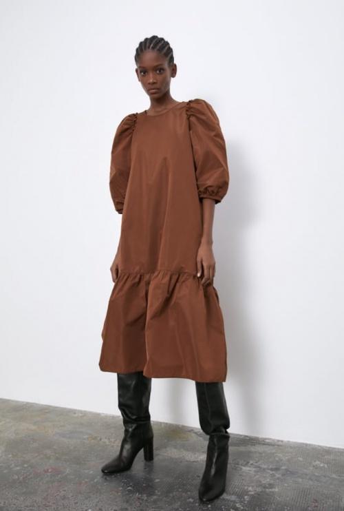 Zara - Robe longue ample