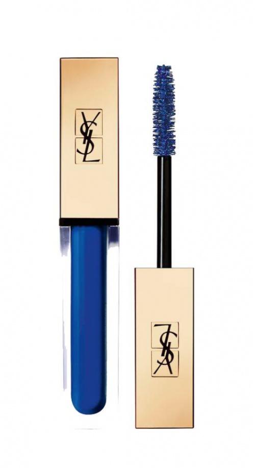 YSL - Mascara bleu électrique
