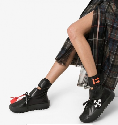Off-White - Baskets montantes
