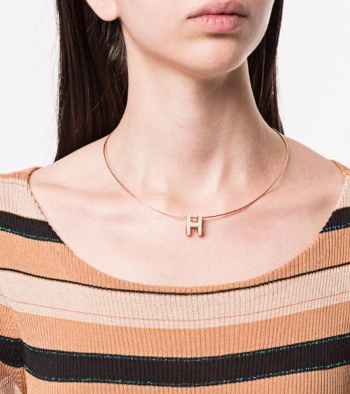 Hermès - collier H