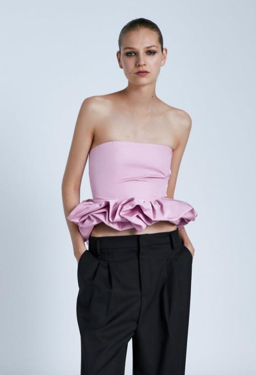 Zara - Top avec bas à volume