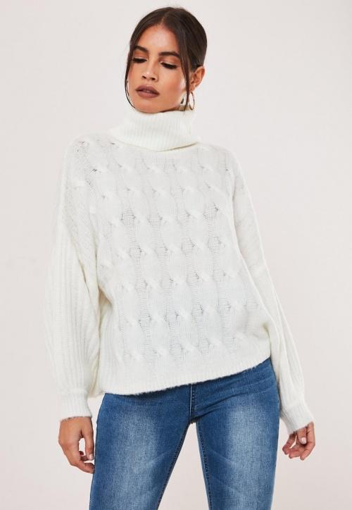 Missguided- Pull en tricot épais