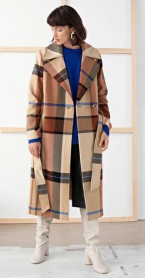 &OtherStories - Manteau à carreaux