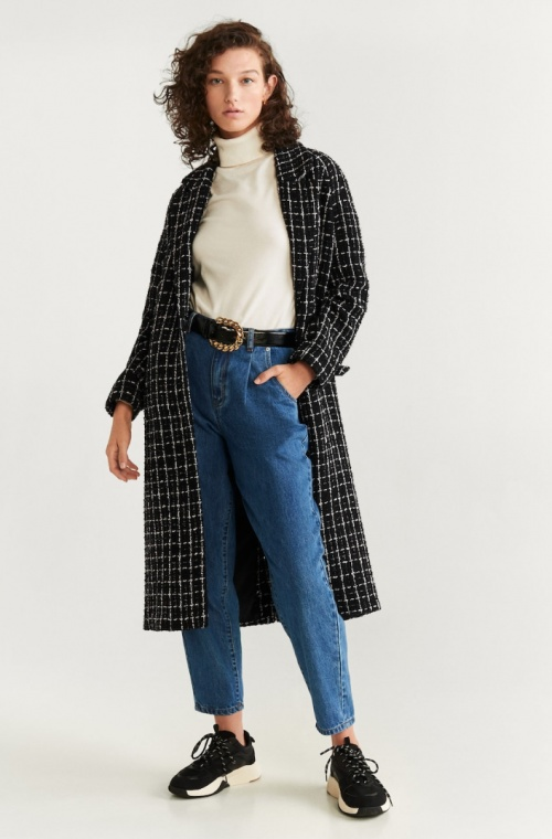 Mango - Manteau tweed