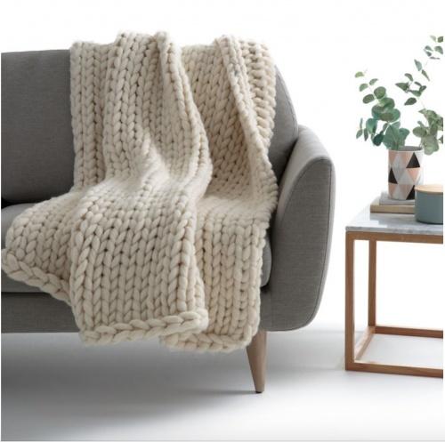 La Redoute - Plaid en tricot