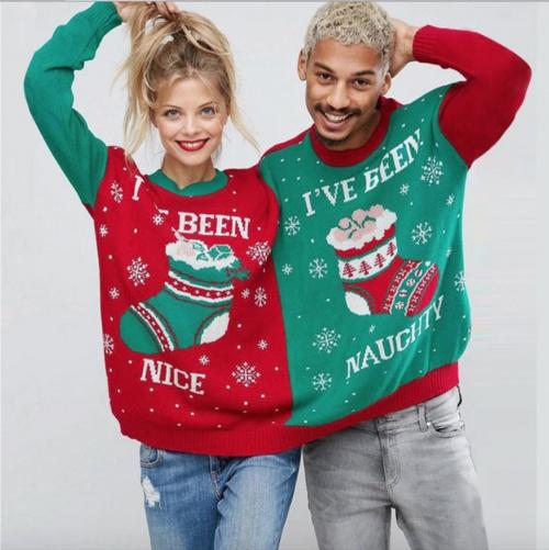 PleinDeGadget - Pull de Noël couple