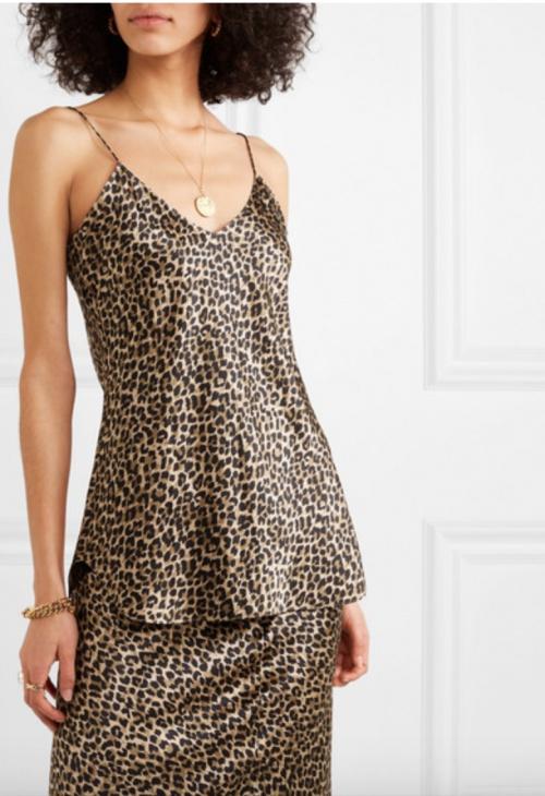 Nili Lotan - Caraco imprimé léopard