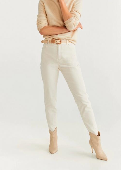 Mango - Pantalon en velours côtelé