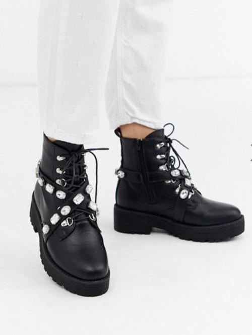 Truffle Collection - Chaussures de randonnée ornées