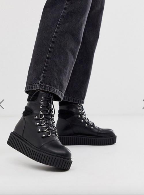 Lamoda - Chaussures de randonnée style creeper