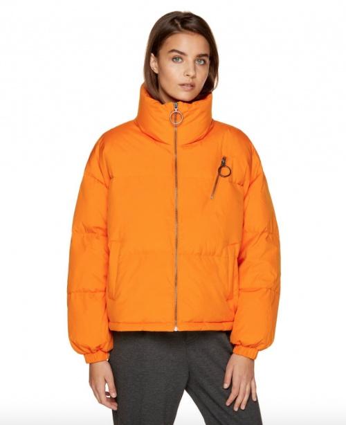 Benetton - Doudoune orange