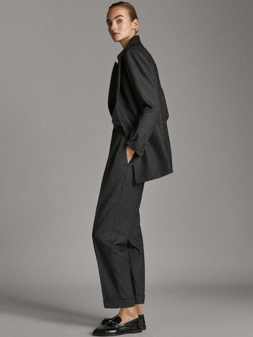 Massimo Dutti - Pantalon en laine