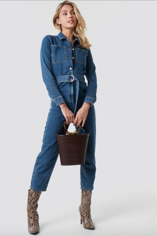 NA-KD - Combinaison en jean