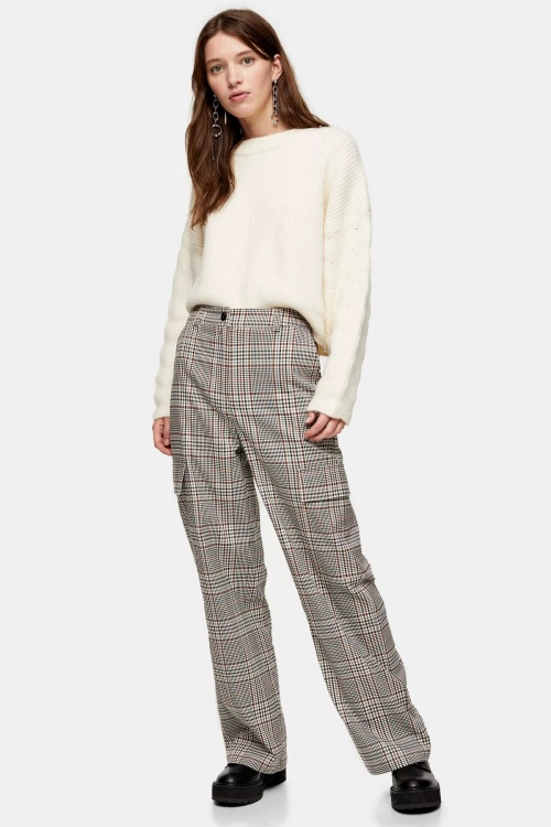 Topshop - Pantalon à carreaux