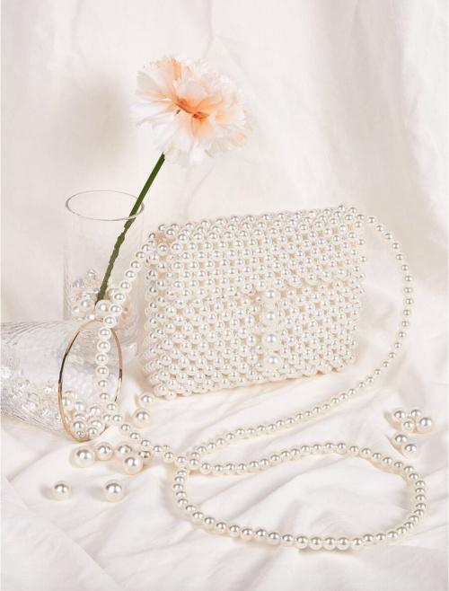 SHEIN - Sac à bandoulière en perles