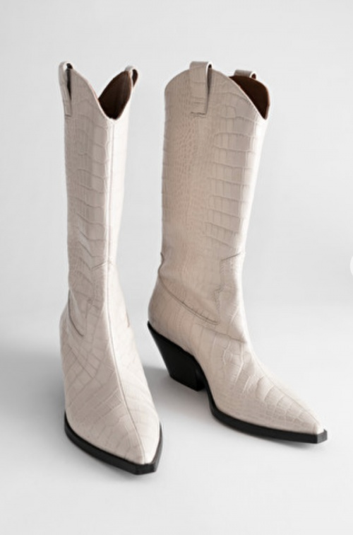 & Other Stories - Bottines cowboy