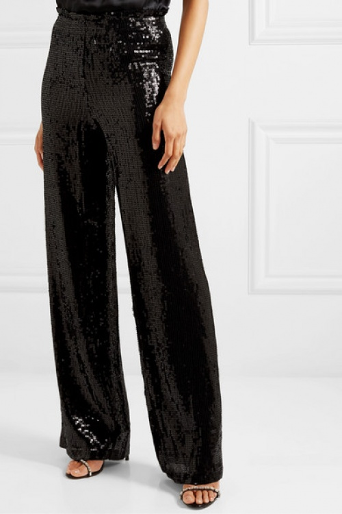 Alice + Olivia - Pantalon à sequins